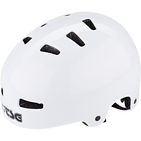 TSG Evolution Injected Color Casque, injected white